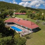 Belle villa piscine Marie Galante, Jacaranda- Location Villa à Marie Galante vue mer