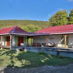 Vue extérieure villa Jacaranda - Location Villa à Marie Galante