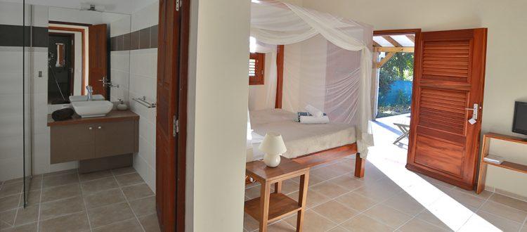 Intérieur confortable villa Jacaranda - Location Villa à Marie Galante