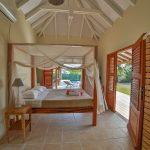 Chambre confortable, villa Jacaranda - Location Villa à Marie Galante
