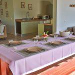 Bel intérieur de la villa Jacaranda à Villa Marie Galante - Location Villa à Marie Galante