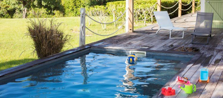 Belle villa piscine Marie Galante, Jacaranda- Location Villa à Marie Galante