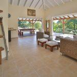 Intérieur confortable de la villa Coccoloba - Location Villa à Marie Galante